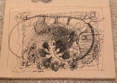 Schets met pen