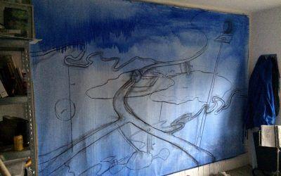 3: Opzetten van het schilderij