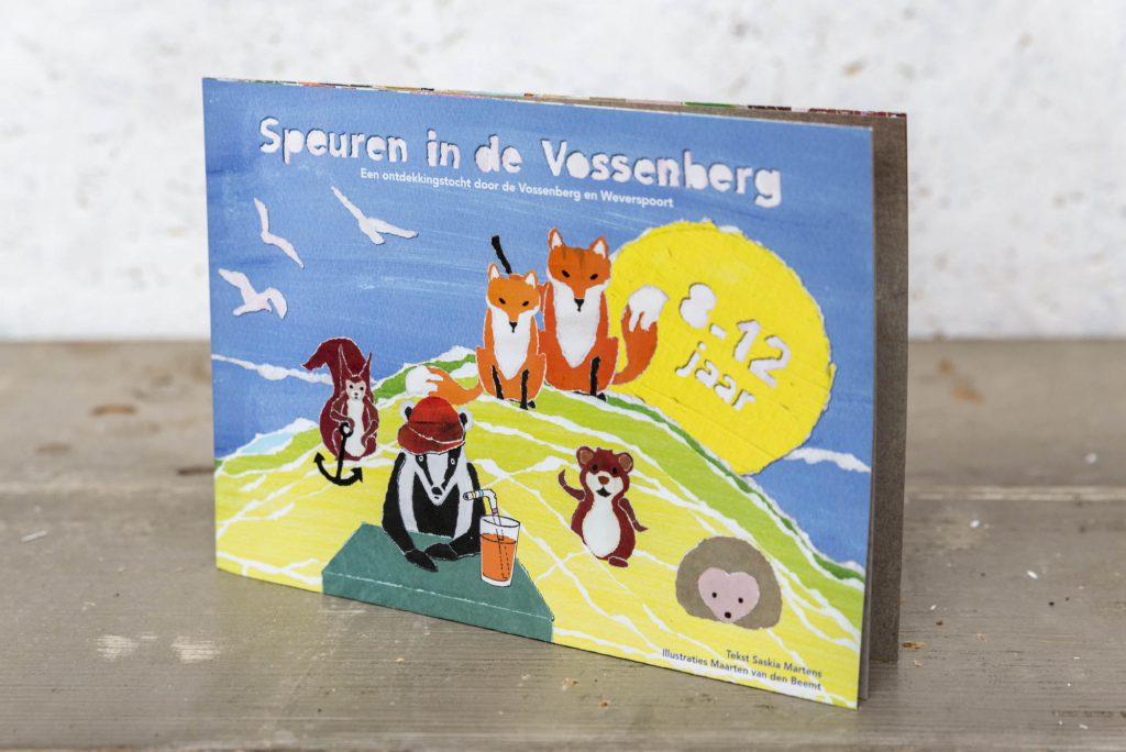 Speurkaart 'Speuren in de Vossenberg' Omslag