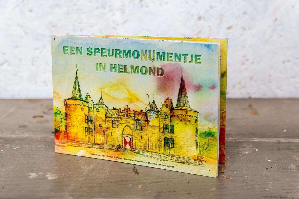 Tracking map 'SpeurmoNUmentje in Helmond' Cover