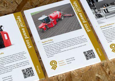 2016 - Awards Blocknotes Goed industrieel Ontwerp