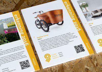 2016 - Erkenningen Blocknotes Goed industrieel Ontwerp