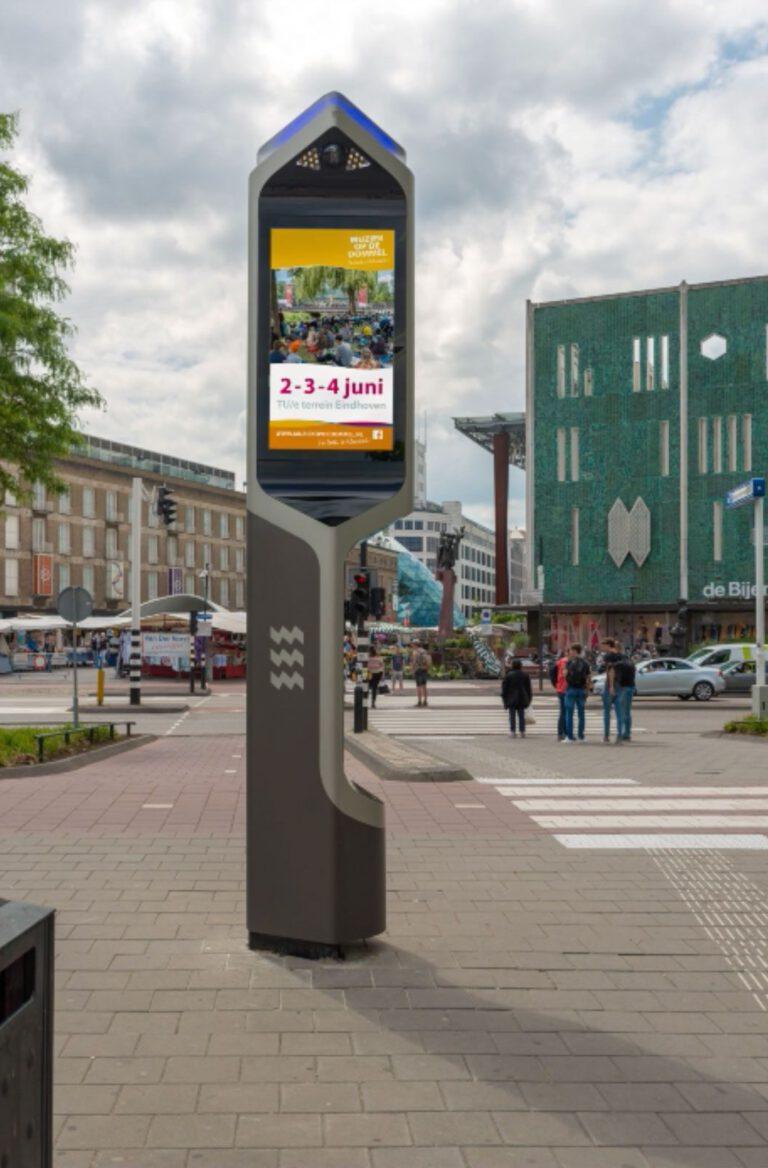 Citybeacon in Eindhoven