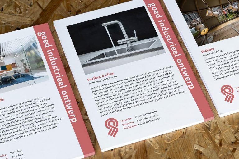 2018 Recognitions Blocknotes, Good industrial design