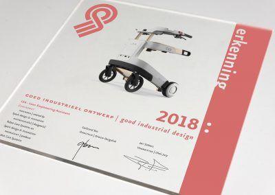 Erkenning Gio 2018