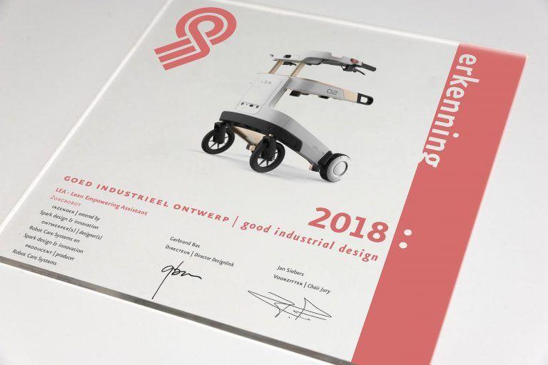 2018 Recognition, Good industrial design
