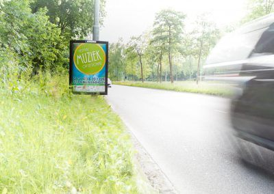 Poster Muziek op de Dommel 2014Muziek-op-de-Dommel-Straatreclame-2