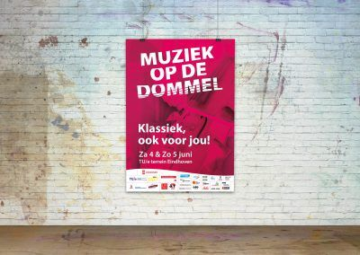 Poster Muziek op de Dommel 2015