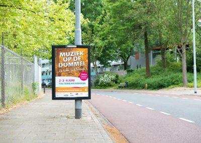 A1 poster langs de weg in Eindhoven