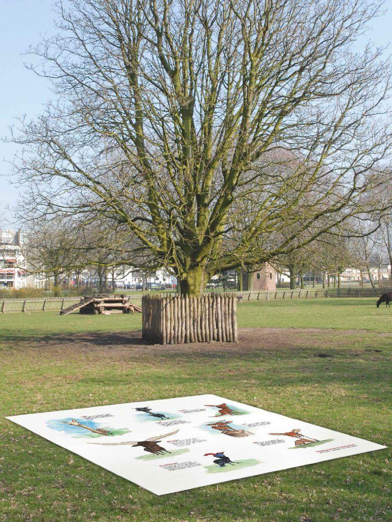 Stichting Jan Visser Dierenparken Picknickmat