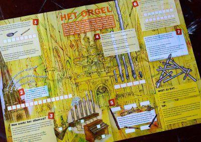 Muziek uit de toren, Het orgel