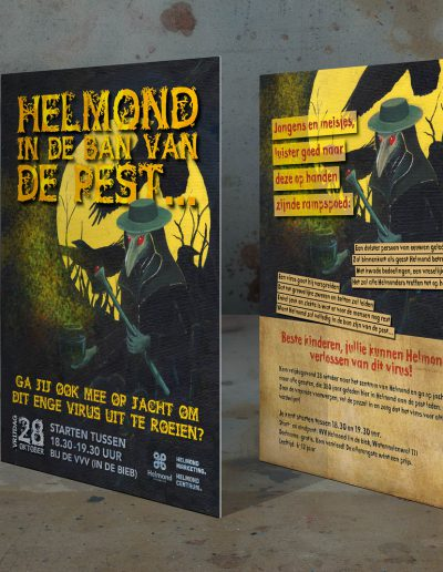 Flyer, In de ban van de Pest