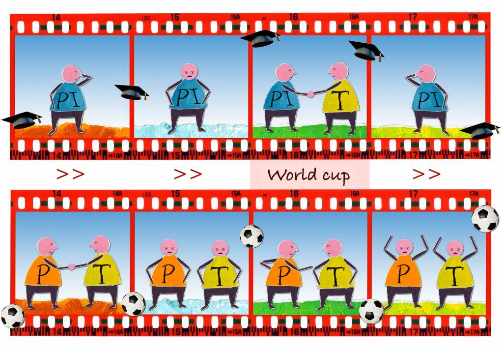 Hands on grands World Cup