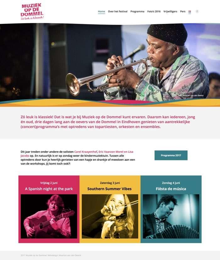 Website voor Muziek op de Dommel, Zo leuk is klassiek