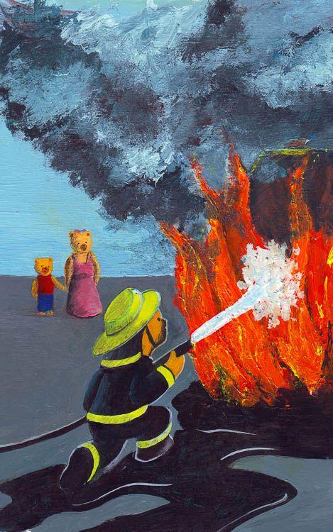 Beertje Bob en de brandweer
