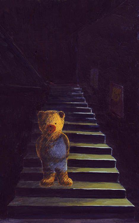 Beertje Bob in het donker