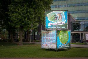 Muziek op de Dommel Banners Kindermuziektuin