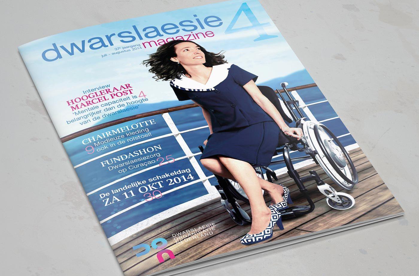 Dwarslaesie magazine