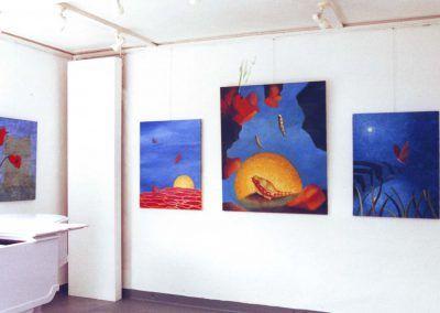 Expositie Leo Steinhauzer 1999, Schilderijen