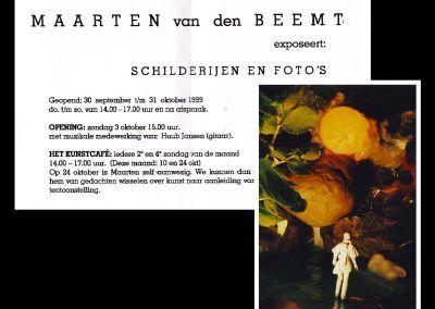 Expositie Leo Steinhauzer 1999, Uitnodigingen