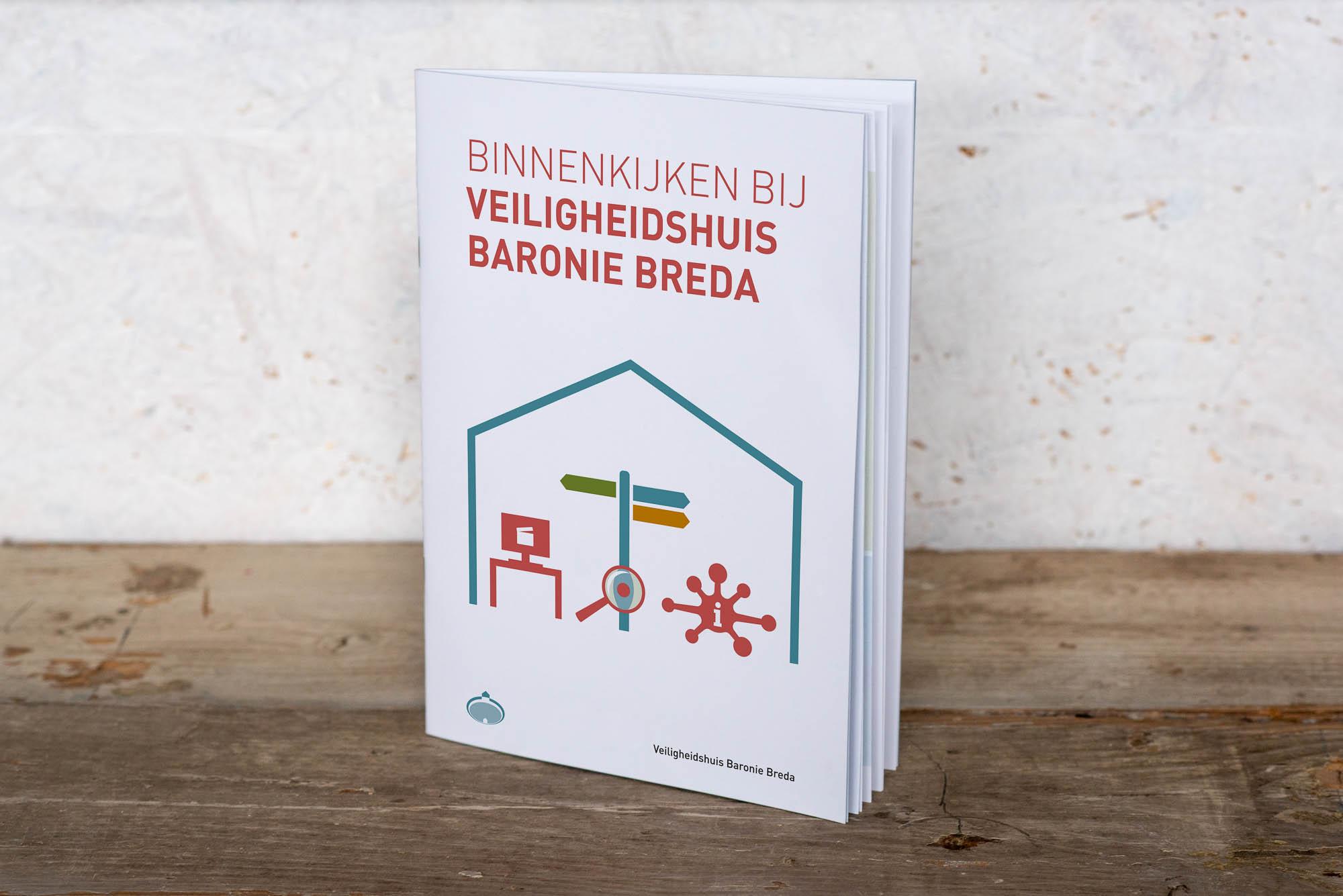 """Boekje """"Binnenkijken bij veiligheidshuis Baronie Breda"""""""