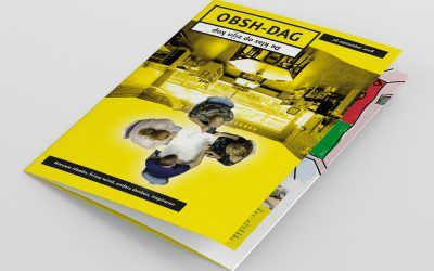 Ons Magazine vormgeving