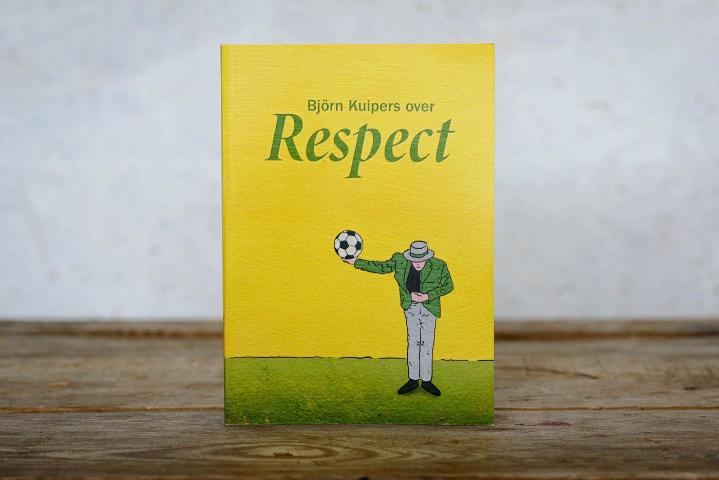 "Boek ""Björn Kuipers over respect"""