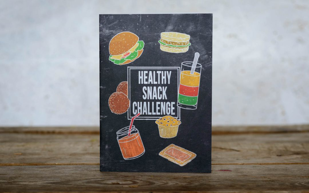 Healthy food snack challenge