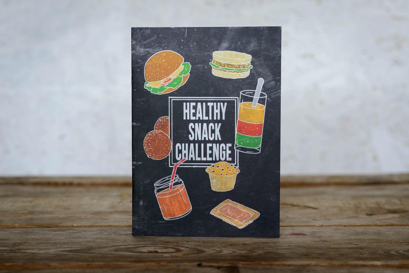 Opdrachtenboekje, Healthy snack challenge