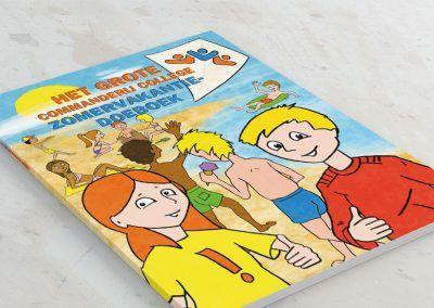 Het grote Commanderij College zomervakantie doeboek