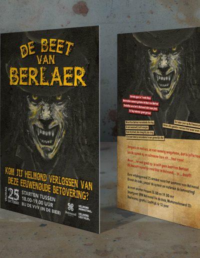 Flyer Halloween, De beet van Berlaer