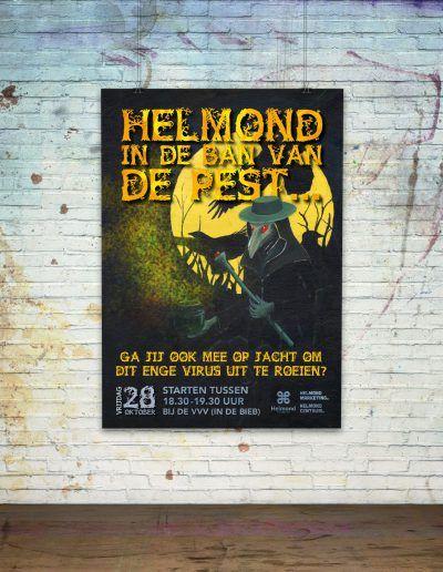 Poster, Halloween In de ban van de pest