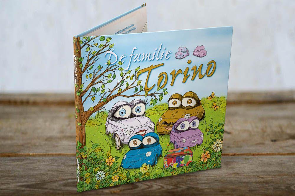 De familie Torino, een boek over het verlies van je baby