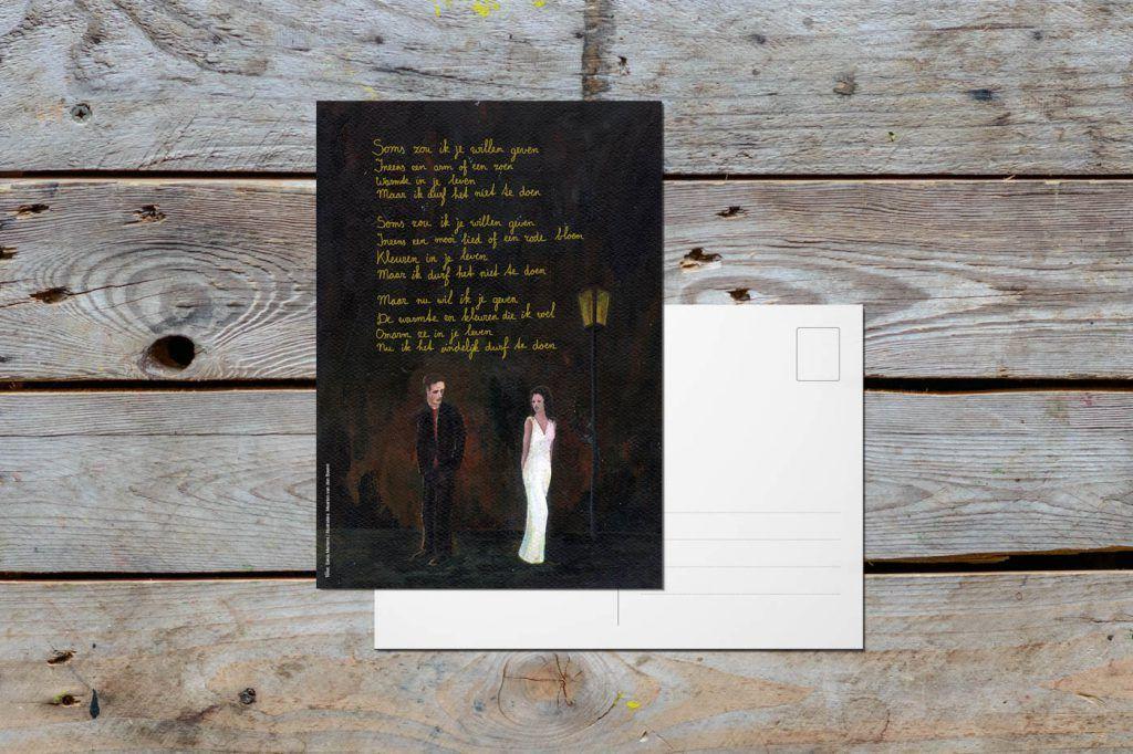 Ansichtkaart 'Soms zou ik je willen geven'