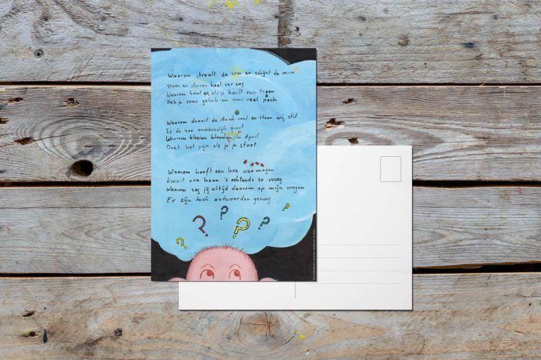 Postcard 'Why?'