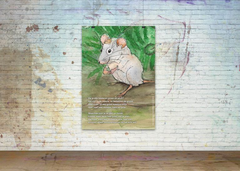 Drawn Poems, Poster 'Mouse'