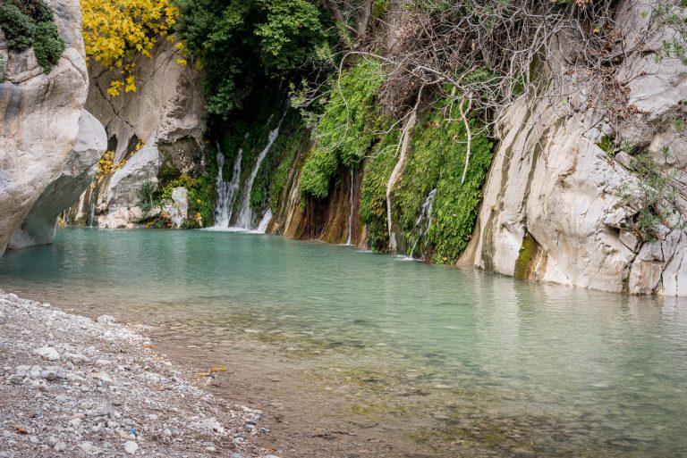 Vallei in Turkije