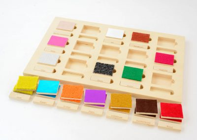 Taktiel kleurensysteem