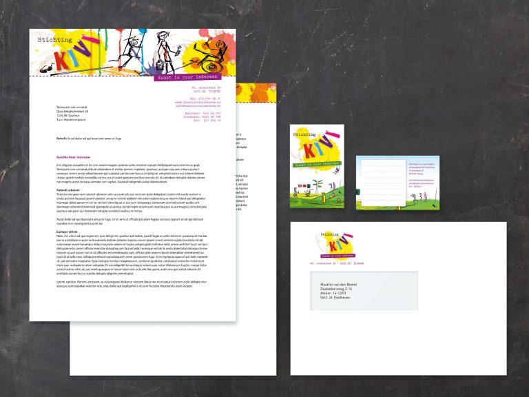 """Corporate identity """"Kunst Is Voor Iedereen"""""""
