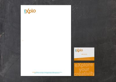 Huisstijl Studio Xplo