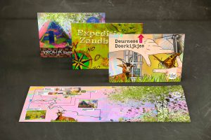 Set with children's routes municipality of Deurne