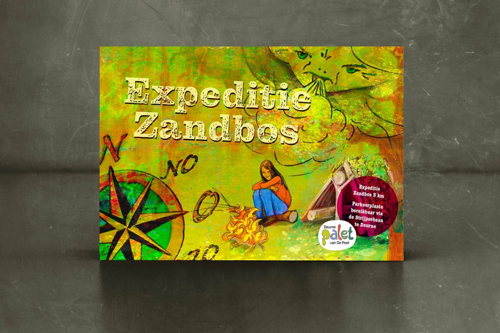 Omslag Expeditie Zandbos